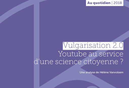 cover publication vulgarisation youtube