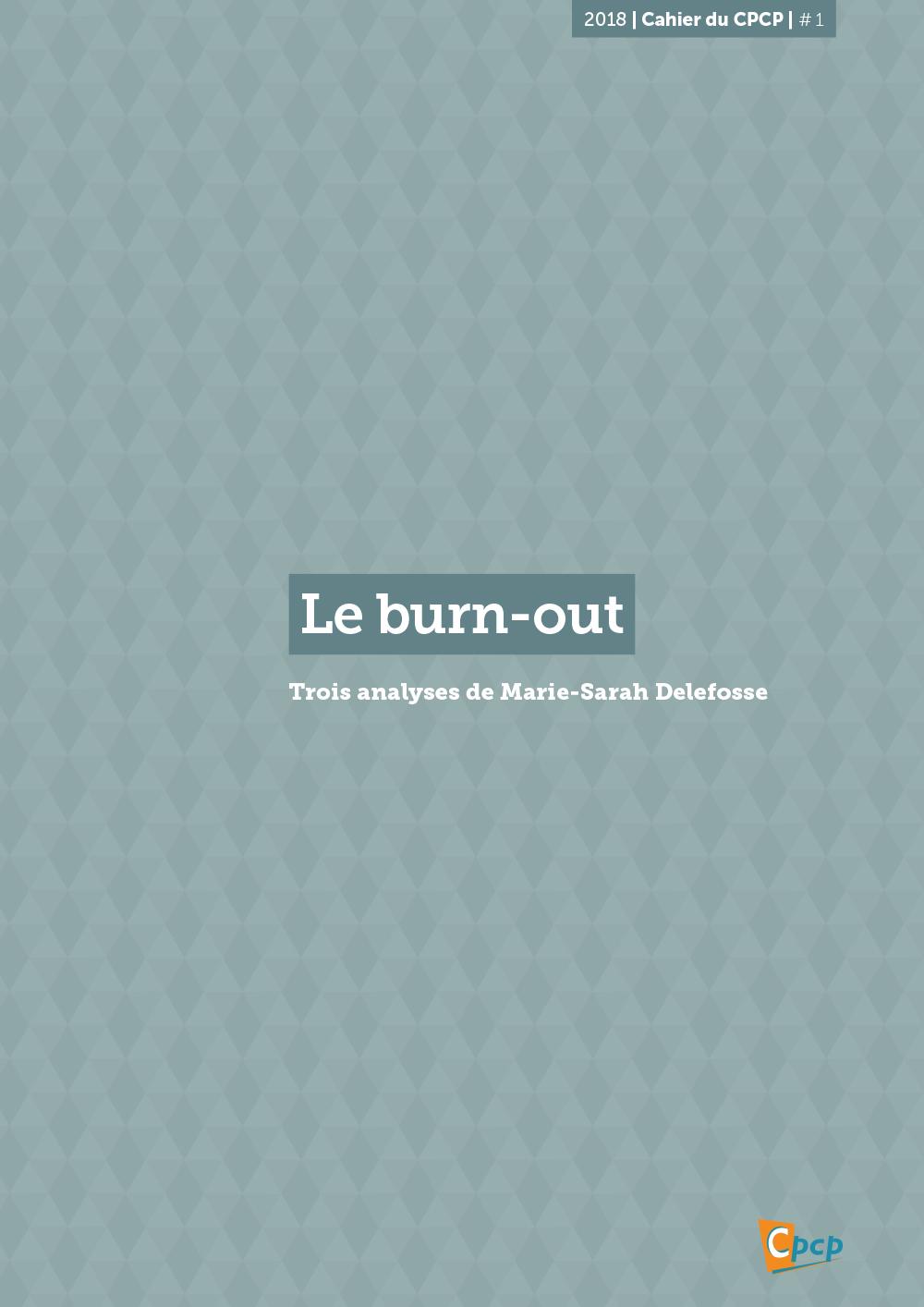 cover publication spécial burnout