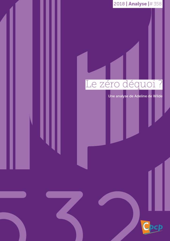 Cover publication zéro déquoi