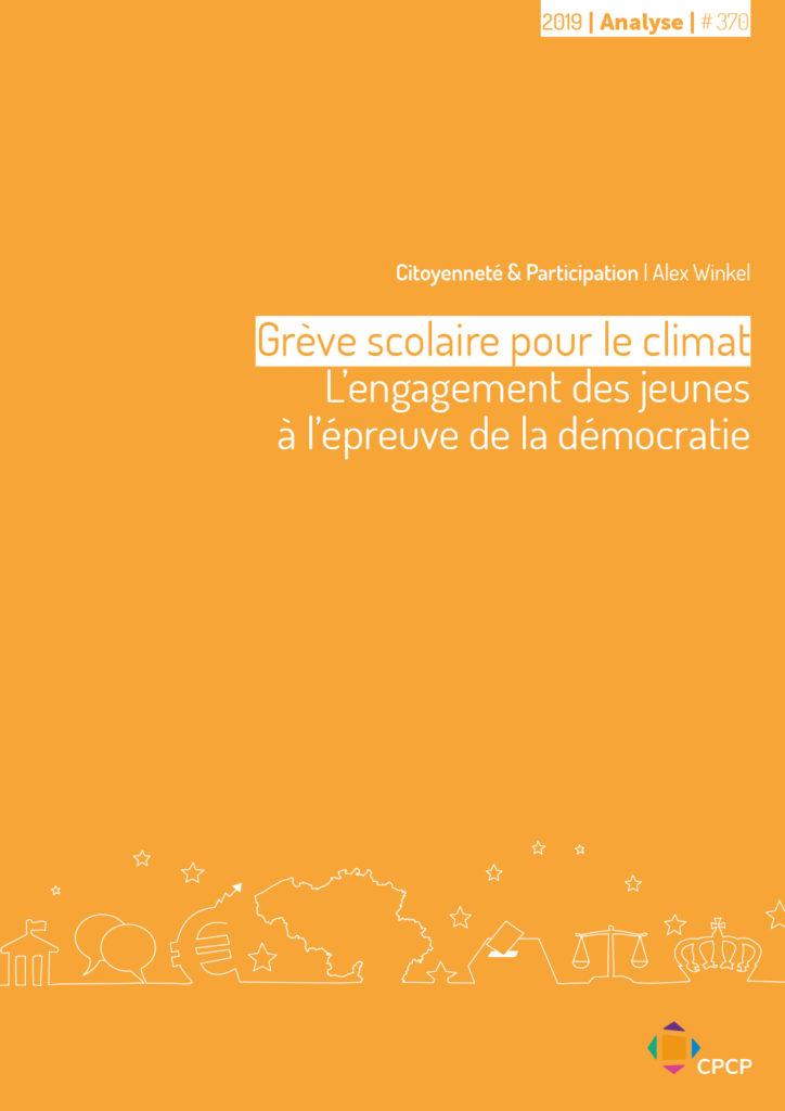 cover publication grève scolaire climat