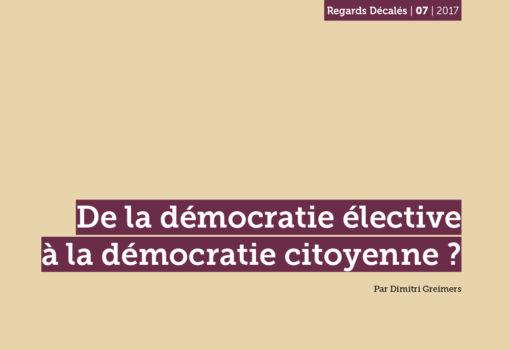 cover publication démocratie élective