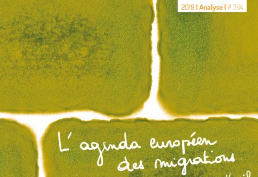 cover publication l'agenda européen des migrations