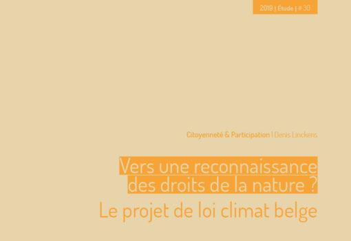 Cover publication vers une reconnaissance des droits de la nature ?