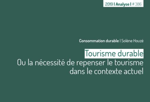cover publication Tourisme durable
