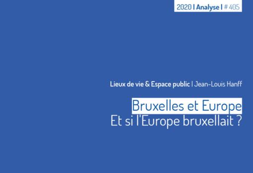Cover publication Bruxelles et Europe