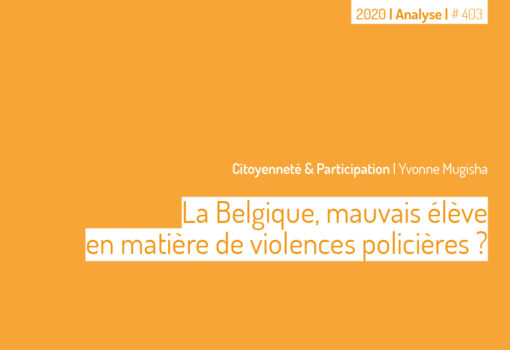 cover publication violences policères