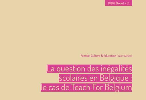 cover publication Teach For Belgium