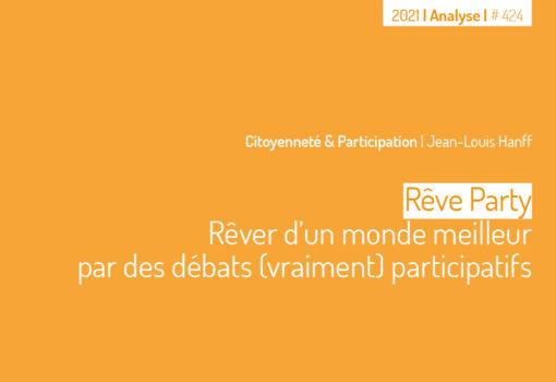 """Cover publication """"Rêve Party"""""""